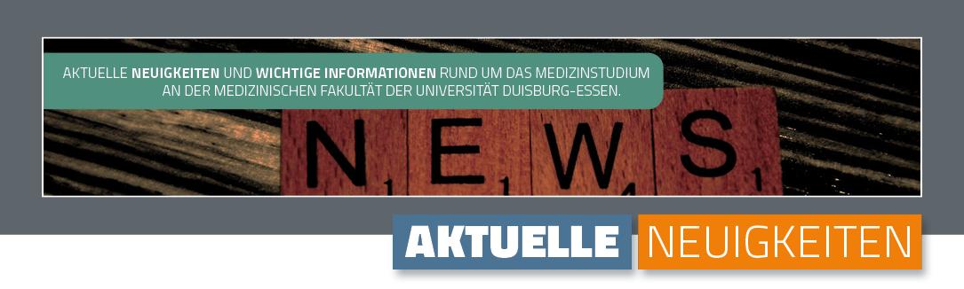 Aktuelle Neuigkeiten - Banner